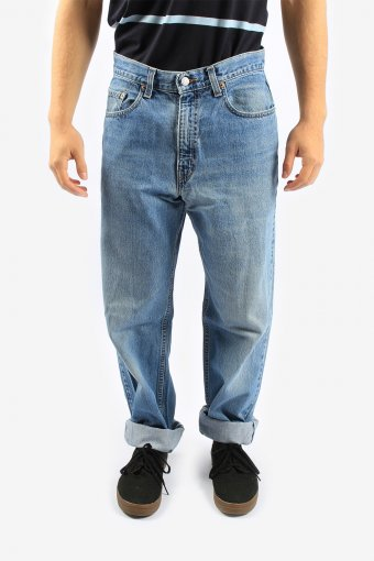 Levis 550 Jean Relaxed Fit Tapared High Waisted Mens