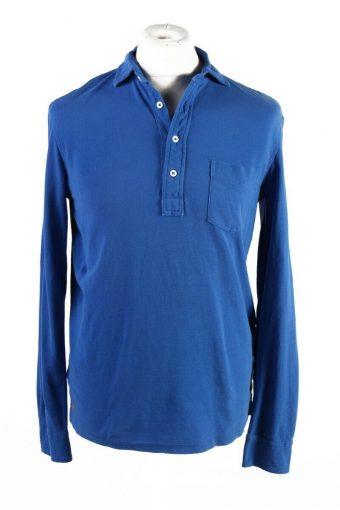 Ralph Lauren Polo Sweatshirt Long Sleeve Tops Blue Size M