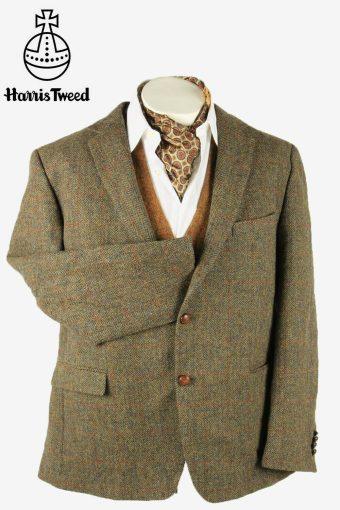Vintage Harris Tweed Blazer Jacket Windowpane Country Multi Size XXL