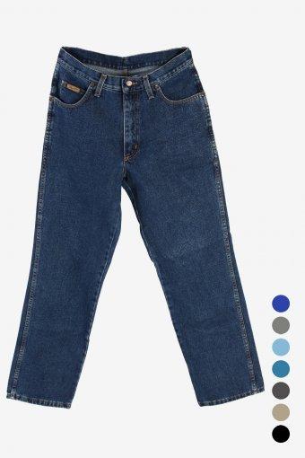 Wrangler Idaho Mens Regular Fit Straight Jeans 90S Retro