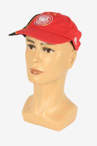 Adidas DEUTSCHLAND Cap Adjustable Snapback Headwear Vintage Retro Red