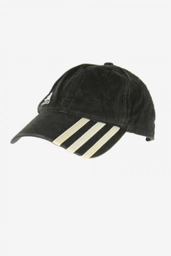 Adidas Sport Cap Adjustable Snapback Outdoor 90s Vintage Retro Black