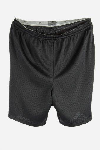 Champion Men Basketball Shorts Vintage Training Running Shorts Black L