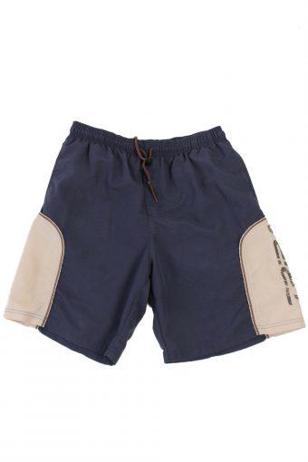 Dechatlon Swimming  Short Sport Running Men Vintage Navy Size  L