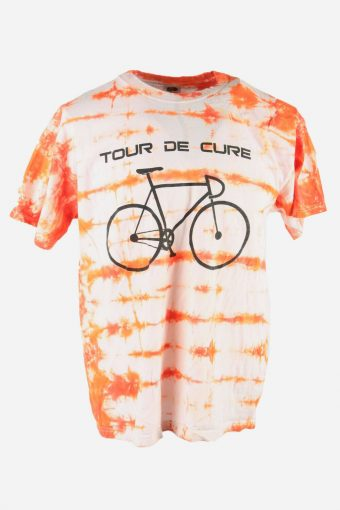 Tie Dye T-Shirt Top Tee Music Festival Retro Rainbow  Men Multi Size XL
