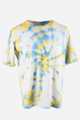 Tie Dye T-Shirt Top Tee Music Festival Retro Vintage  Men Multi Size L