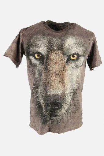 3D Animal Print Tie Dye T-Shirt Retro Festival Hipster Men Multi Size M