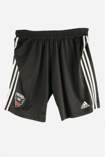 Adidas Football Shorts Training Gym Sports Shorts Vintage 90s Black L