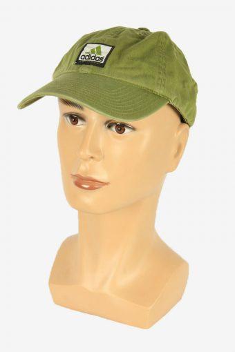 Adidas Sport Cap Adjustable Snapback Headwear 90s Vintage Retro Green
