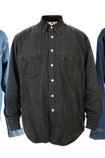 Levis Lee Wrangler Denim Shirts Grade A Men