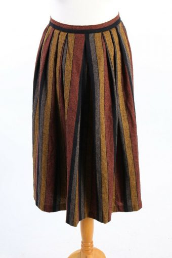 Long Lined Women Printed Skirt Fashionable 90s Classy Womens