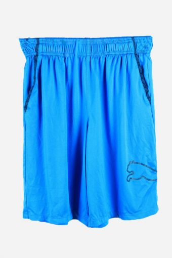 Puma Basketball Shorts Running Activewear Trainning Shorts 90s Blue S