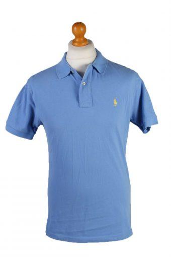 Ralph Lauren Polo Shirt Top Short Sleeve Blue Size M