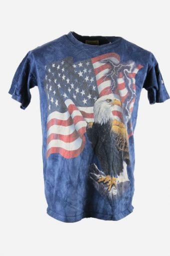 Tie Dye T-Shirt Top Tee Music Festival Retro America Men Multi Size M