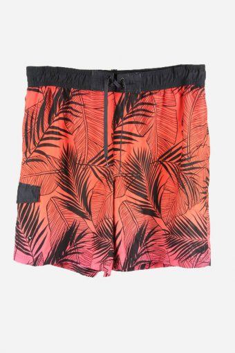 Vintage Hawaiian Shorts Beach Holiday Bermuda Palm Summer Multi Size L