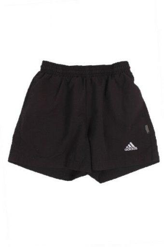 Adidas Sport Shorts Training Athletic Running Black Vintage Size 8 Years