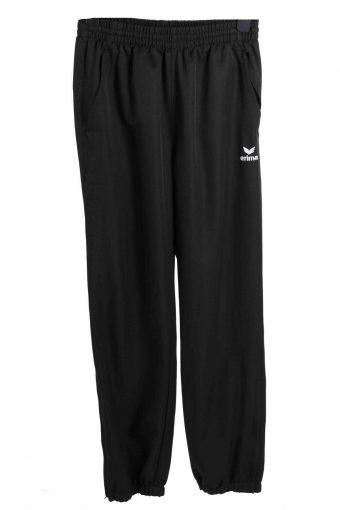 Erima Tracksuits Bottom Summer Holiday Sportswear Vintage Size S Black