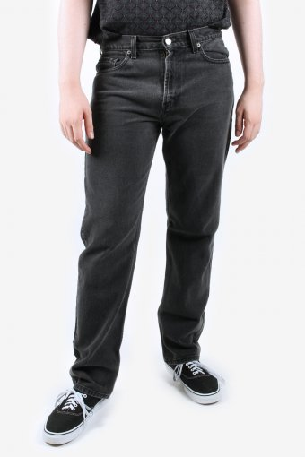 Levis 505 Jeans Mens Straight Leg High Waisted Zip Fly