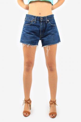 Levis High Waisted Denim Shorts Women Grade A Minus