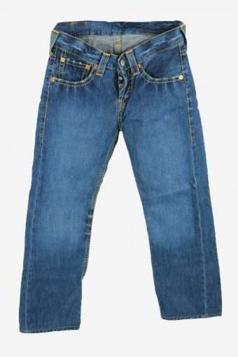 Levi's Lot 901 Vintage Jeans Bootcut Relaxed Button Women Blue W29 L27