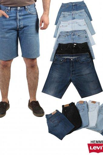 Levi Strauss Denim Hemmed Shorts Mens