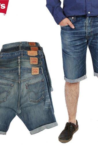 Levi Strauss Denim Shorts Mens Cut Off Grade B
