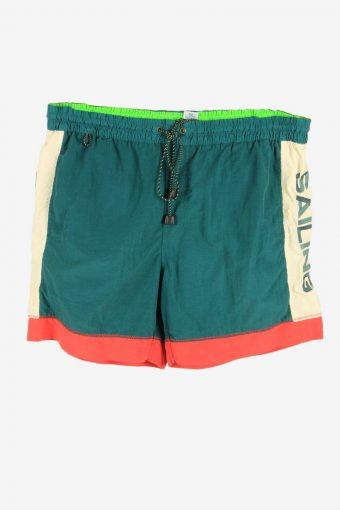 Swimming Short Vintage Summer Pool Holiday Summer 90s Retro