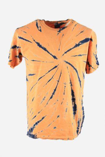 Tie Dye T-Shirt Top Tee Music Festival Retro Rainbow  Men Multi Size L