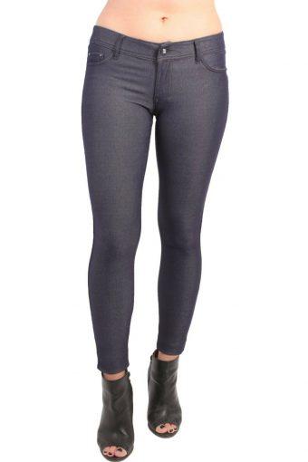 Women's High Waisted Stretch Slim Denim Jeggings Legging 6 8 10 12 14 16
