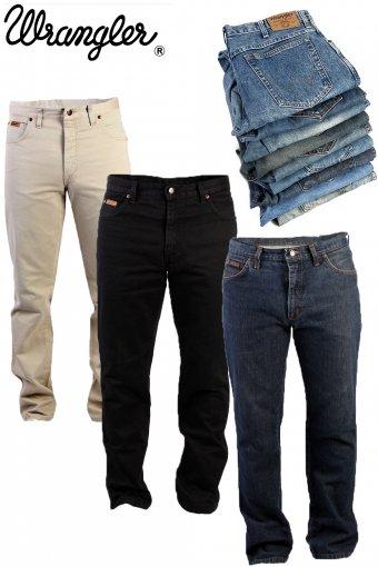 Wrangler Jeans Straight Regular Legs Vintage Grade A