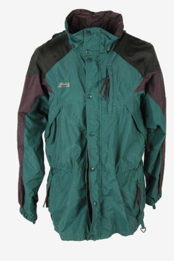 Columbia Vintage Outdoor Jacket Hooded Waterproof Lined  Multi Size M