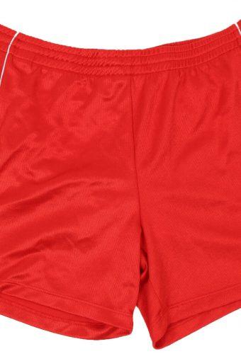 Hummel Mens Sports Short Elasticated Waist Summer Beach L Vintage Red