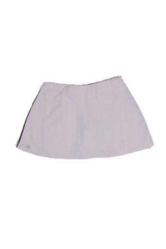 Kalenji Women Tennis Skirt Training Athletic Sport Vintage White Size L