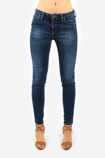 Lee Low Waist Women Jeans Skinny Fit Slim Leg