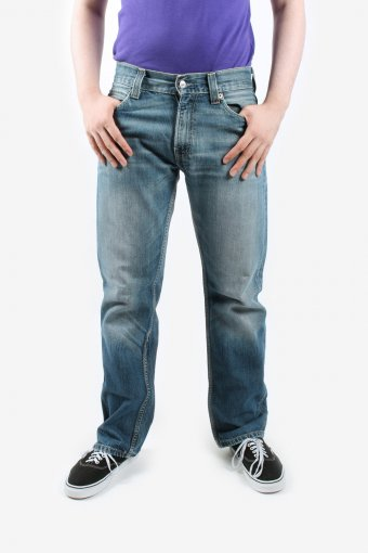 Levis 506 Levi Jeans Mens Straight Leg Zip Fly