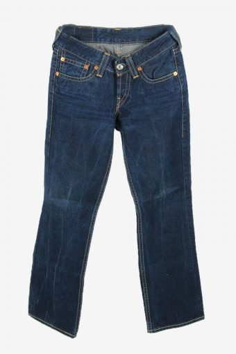 Levi's Lot 921 Vintage Jeans Bootcut Relaxed Button Women Blue W28 L32