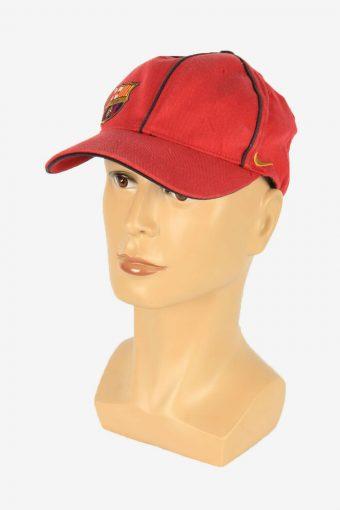 Nike Barcelona Adjustable Snapback Headwear 90s Vintage Retro Red