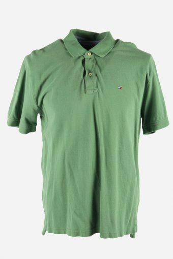 Polo Shirts Tommy Hilfiger Pique T-shirt Golf  Casual Men Green Size L