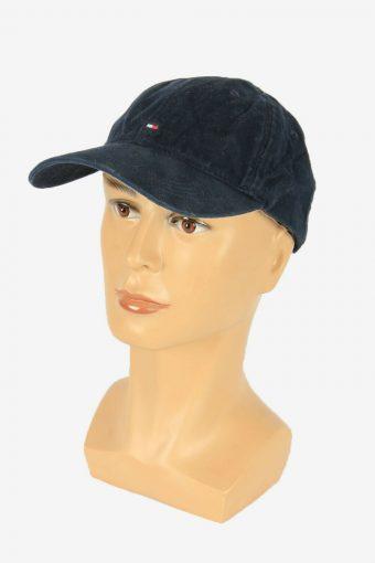 Tommy Hilfiger Baseball Cap Adjustable Snapback Outdoor 90s Retro Navy