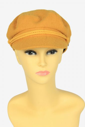 Women Fisherman Sailor Peak Cap Captain Baker Boy Hat Brand New 56 cm To 60 cm