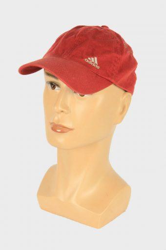 Adidas Baseball Cap Adjustable Snapback Headwear 90s Retro Red