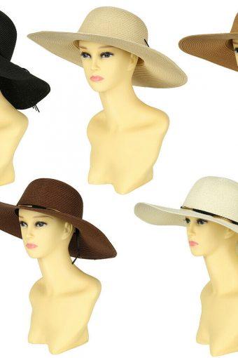 New Paper Straw Wide Large Brim Summer Sun Beach Floppy Hat New