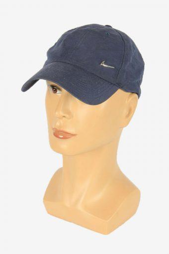 Nike Baseball Cap Adjustable Snapback Outdoor 90s Vintage Retro Navy