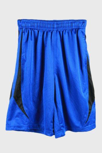 Nike Basketball Shorts Running Activewear Training Shorts 90s Blue L