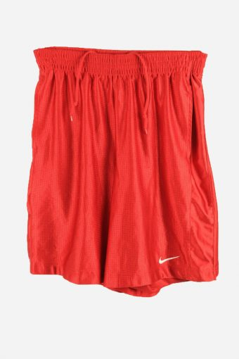 Nike Dri Fit Basketball Shorts Activewear Trainning Shorts 90s Red M