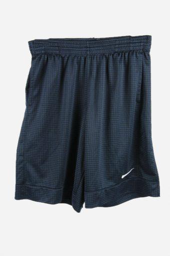 Nike Men Basketball Shorts Vintage Training Running Shorts Navy M