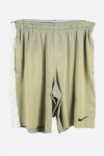 Nike Summer Sports Running Jogging GYM Quick Dry Shorts Light Green L