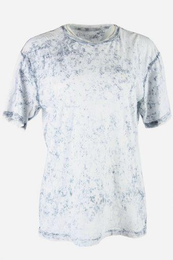 Tie Dye T-Shirt Top Tee Music Festival Retro Hipster  Women Multi Size L